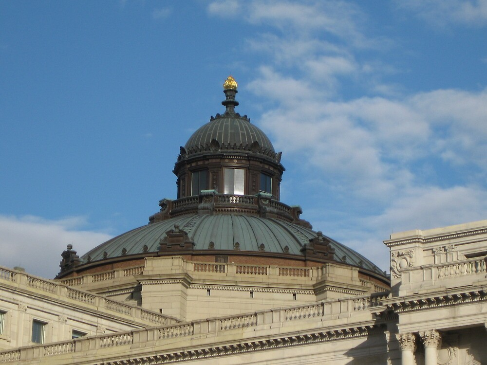 Library of Congress Dome by Kelly Morris