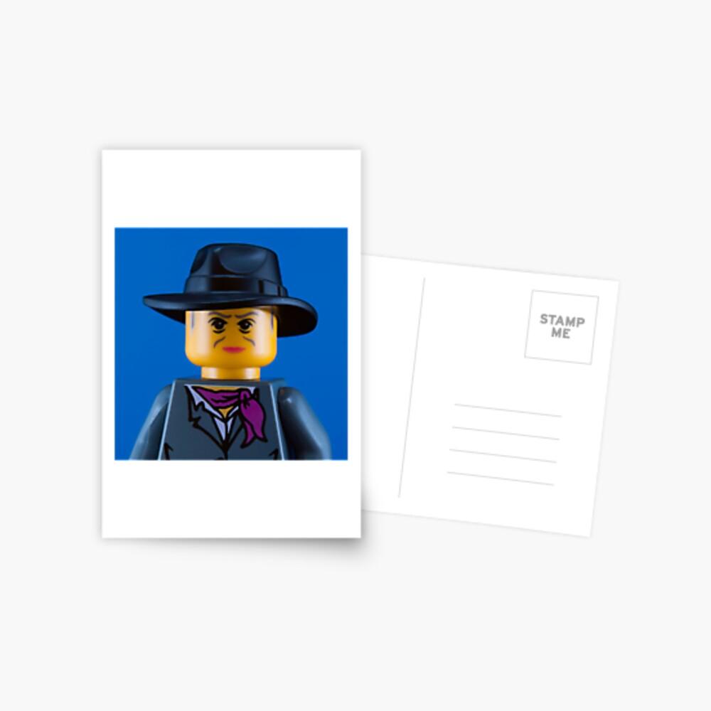 Quentin Crisp Portrait Postcard