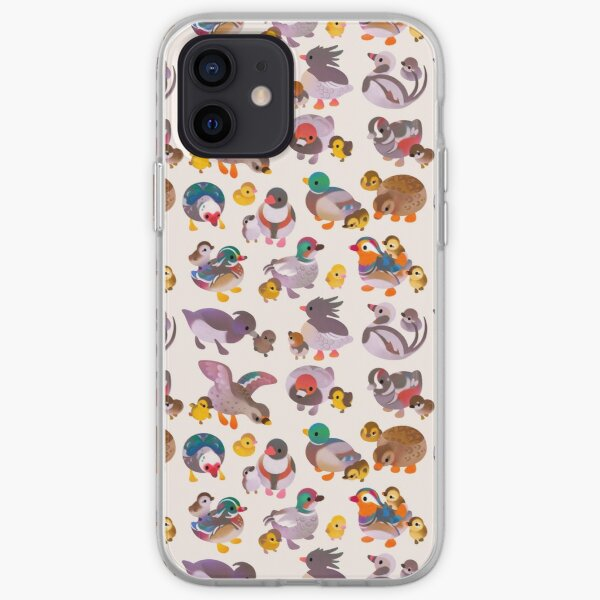 Duck and Duckling iPhone Soft Case