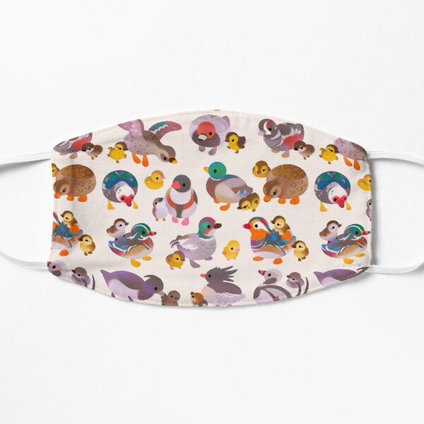 Duck and Duckling Flat Mask