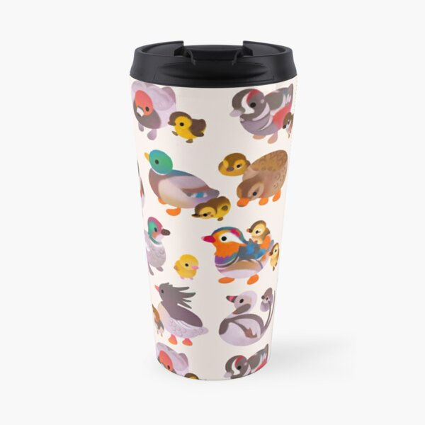 Duck and Duckling Travel Mug
