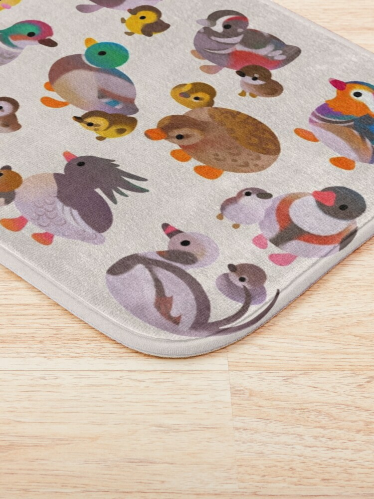 Alternate view of Duck and Duckling Bath Mat