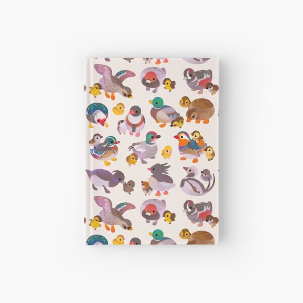 Duck and Duckling Hardcover Journal