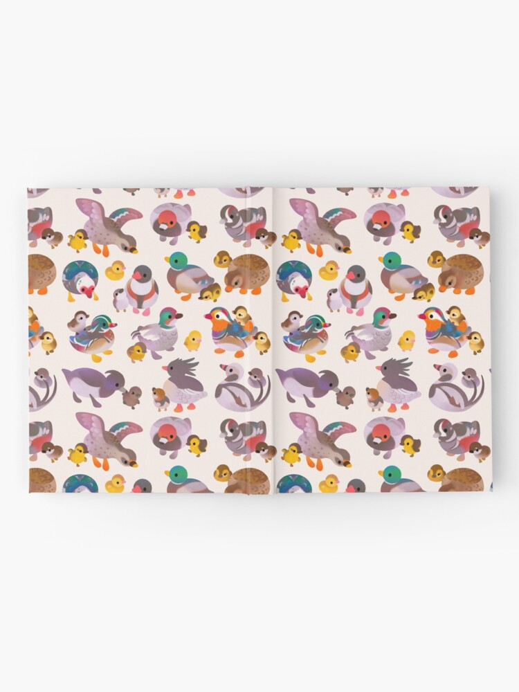 Alternate view of Duck and Duckling Hardcover Journal