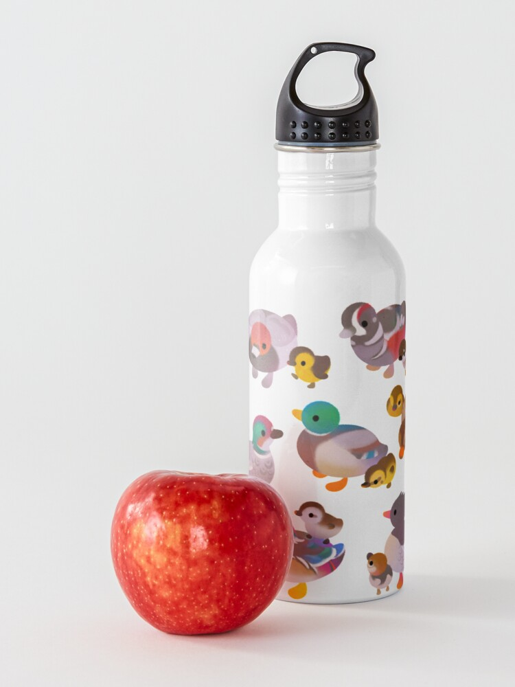 Alternate view of Duck and Duckling Water Bottle