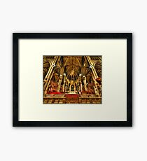 St Patrick's Cathedral - New York 3.0 Framed Print