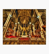 St Patrick's Cathedral - New York 3.0 Photographic Print