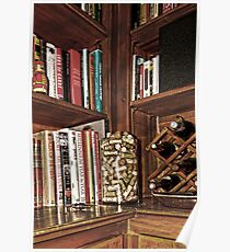 News Journalists Library Corner Poster