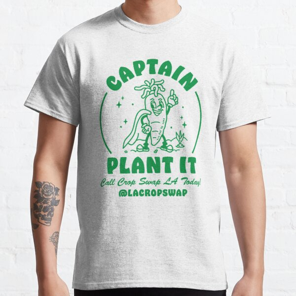 Captain Plant It Classic T-Shirt