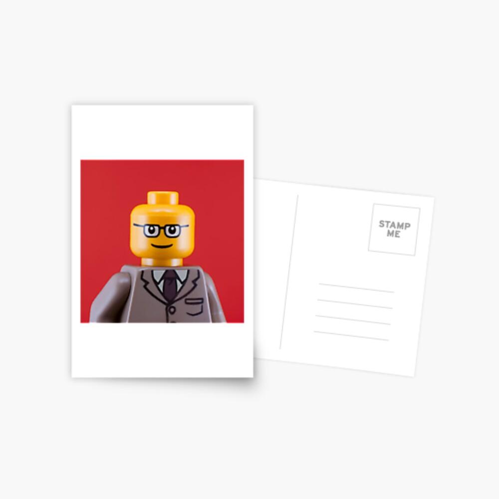 George Portrait Postcard