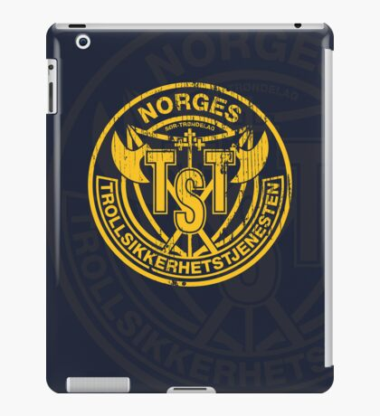 Troll Security service iPad Case/Skin