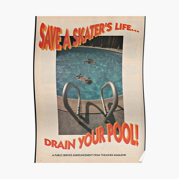 Save a Skater's Life! Poster
