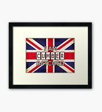 I AM CUMBERBATCHED (UK Edition) Framed Print