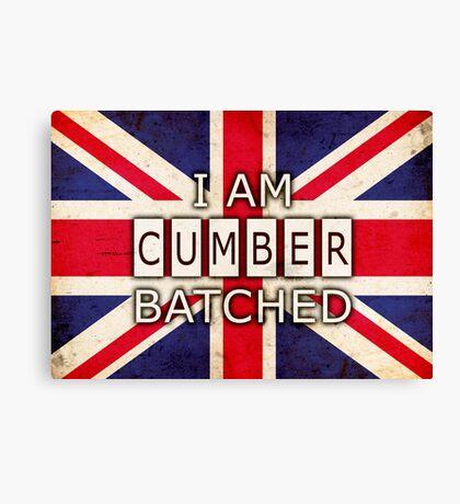 I AM CUMBERBATCHED (UK Edition) Canvas Print
