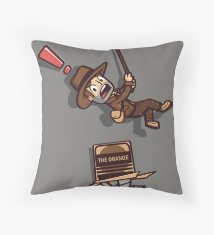 Snaaaaake! Throw Pillow
