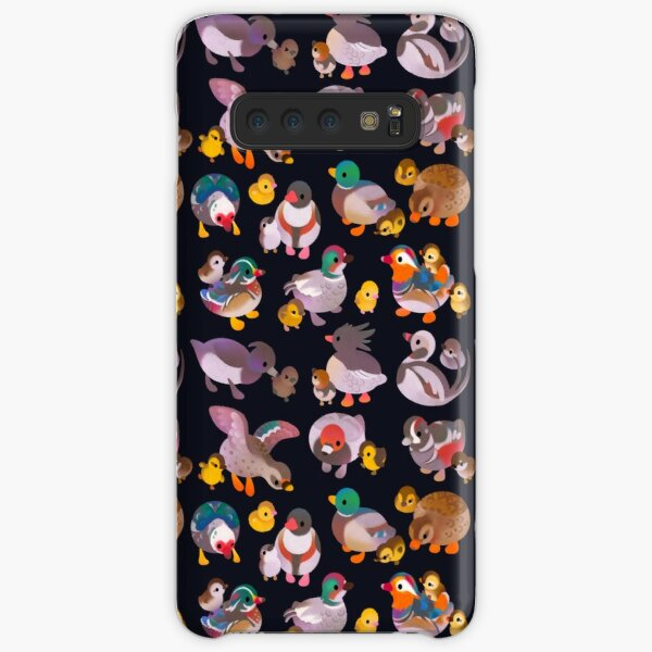 Duck and Duckling - dark Samsung Galaxy Snap Case