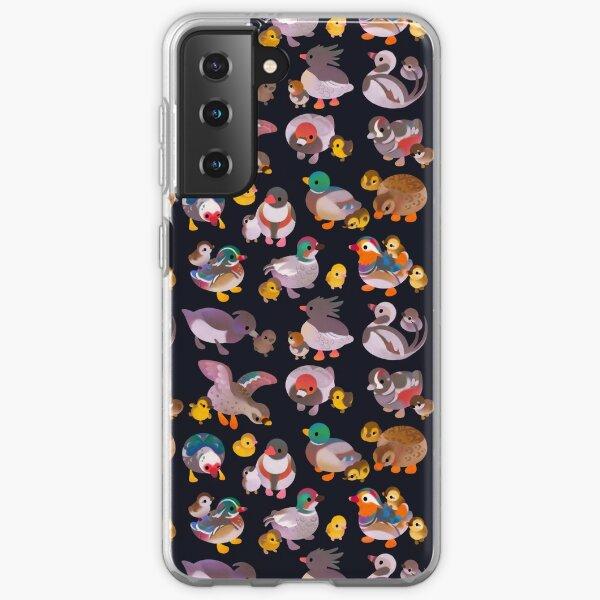 Duck and Duckling - dark Samsung Galaxy Soft Case