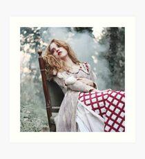 Beauty Lie Art Print