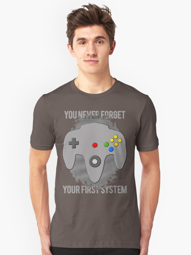 You Never Forget Your First System Unisex T-Shirt Front