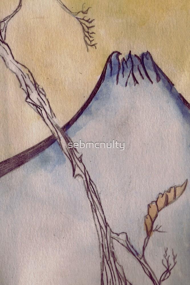 Japanese Mountain by sebmcnulty