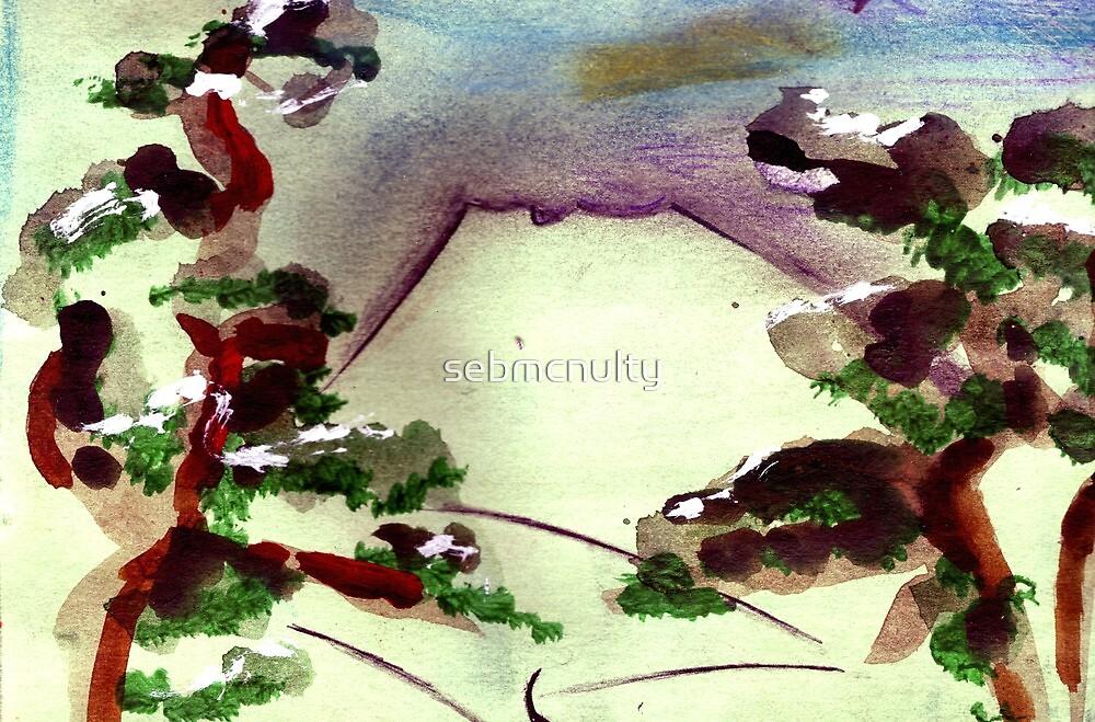 Japanese Mountain 2 by sebmcnulty