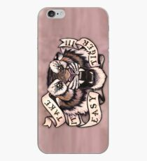 Take it Easy Tiger iPhone Case
