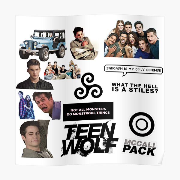 Teen Wolf 14-Pack  Poster