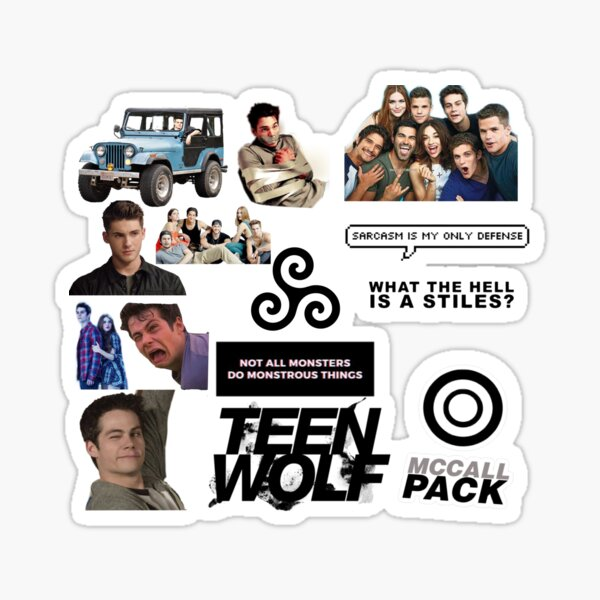 Teen Wolf 14-Pack Pegatina