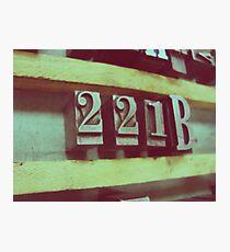 221B Photographic Print