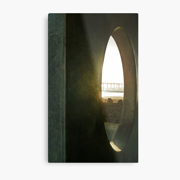 A Restricted View Metal Print