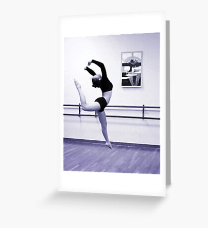 Dancing Beauty Greeting Card