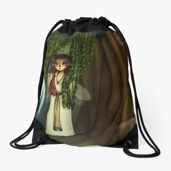 The Willow Maid Drawstring Bag