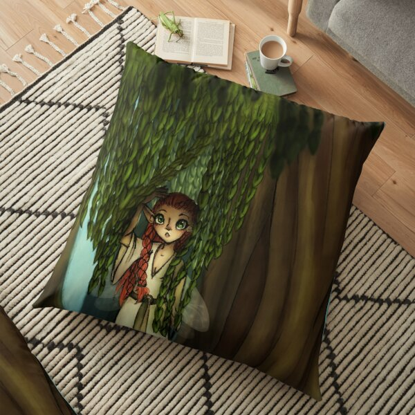 The Willow Maid Floor Pillow