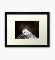 Peak Framed Print