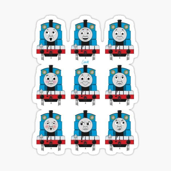 The Many Faces of Thomas Sticker