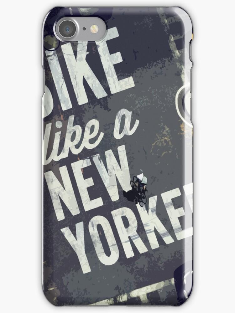 Bike Like A New Yorker by fuggleberry