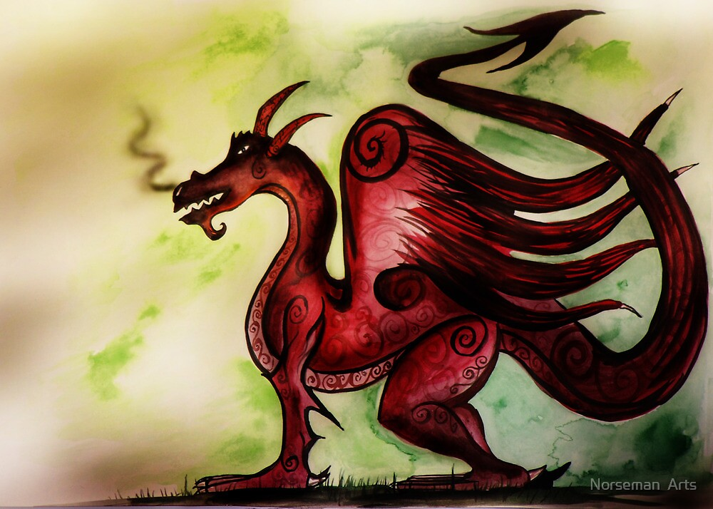 Red Dragon by TheCroc1979