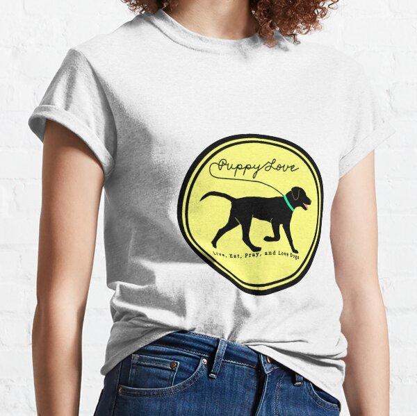 puppy love dog walking Classic T-Shirt