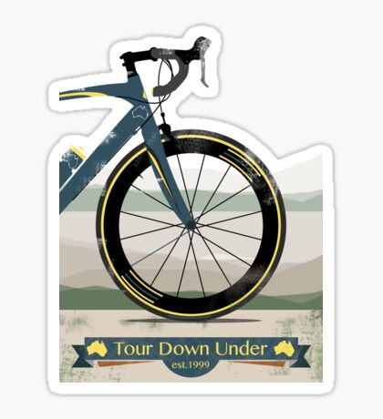 Tour Down Under Bike Race Sticker