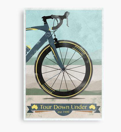 Tour Down Under Bike Race Metal Print