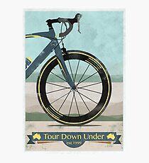 Tour Down Under Bike Race Photographic Print