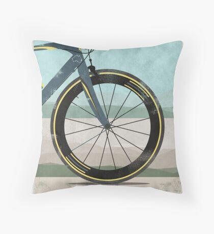 Tour Down Under Bike Race Throw Pillow