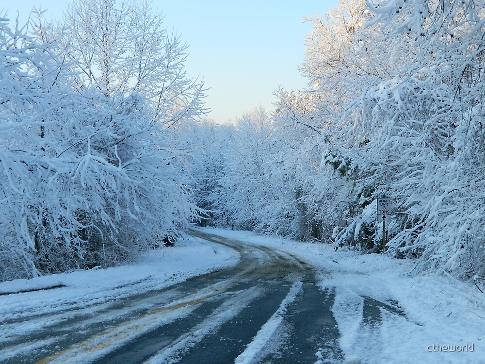Back Road Snow  ^ by ctheworld