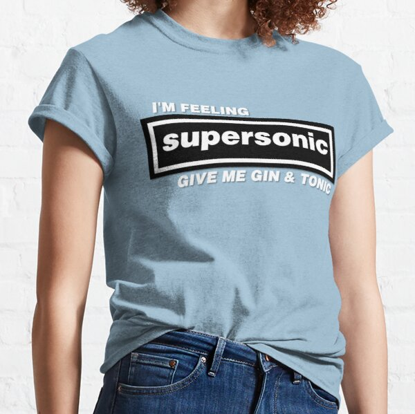 Oasis Liam Gallagher Supersonic Britpop Classic T-Shirt