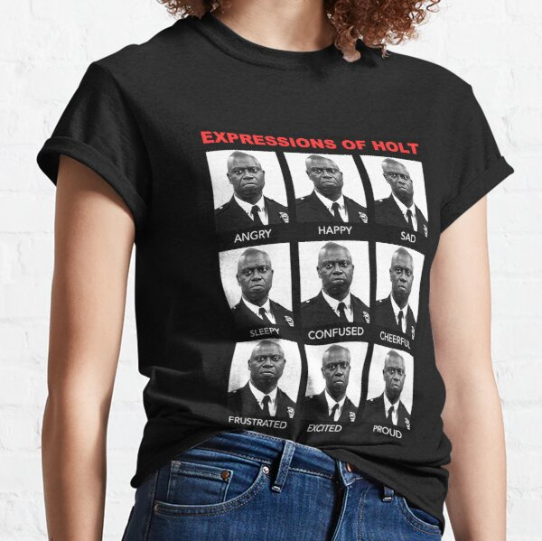 Expressions Of Captain Holt, Brooklyn 99 Classic T-Shirt
