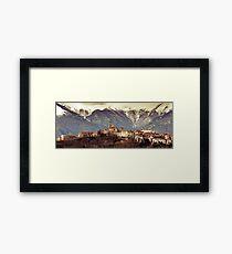 Castel Frentano  Framed Print