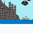 Aliens invading Hong Kong by funkyworm