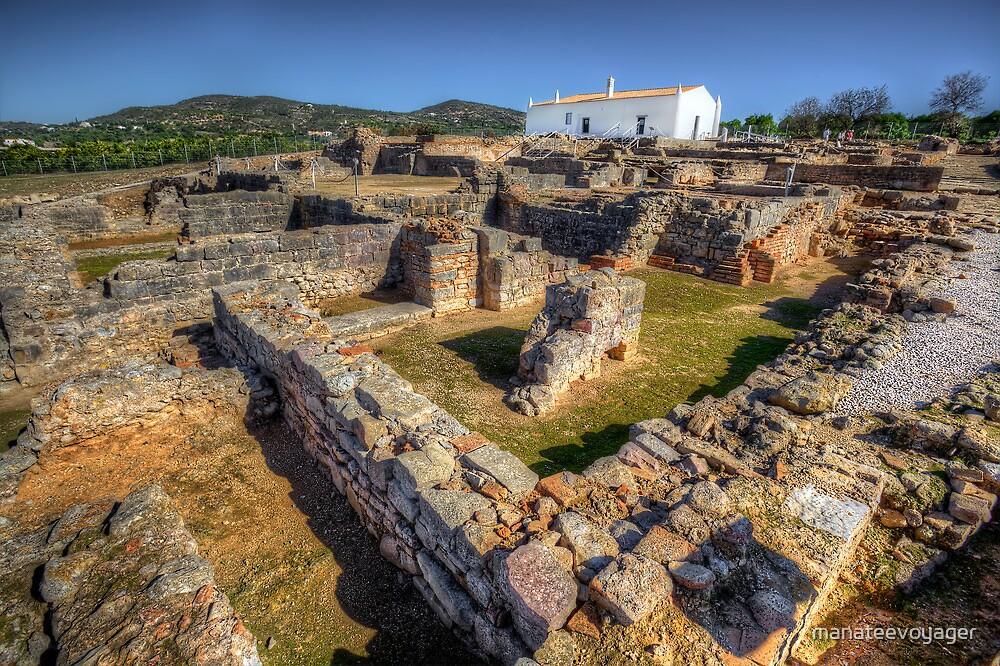 Roman Ruins at Milreu by manateevoyager