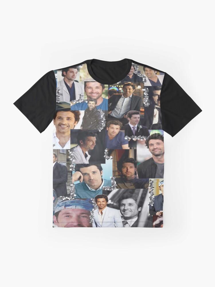 Alternate view of Derek Shepherd Collage Graphic T-Shirt