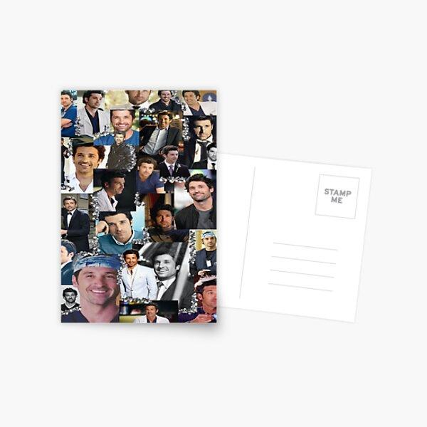 Derek Shepherd Collage Postcard